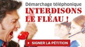 Contre le démarchage téléphonique, signez la pétition